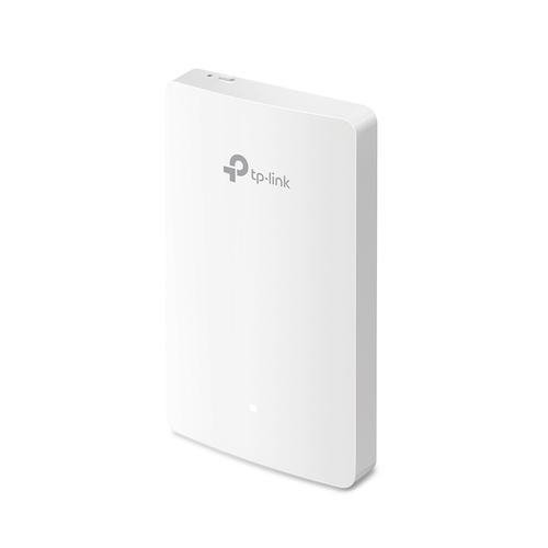 TP-LINK Omada AC1200 Wireless MU-MIMO Gigabit Wall Plate Access Point product photo