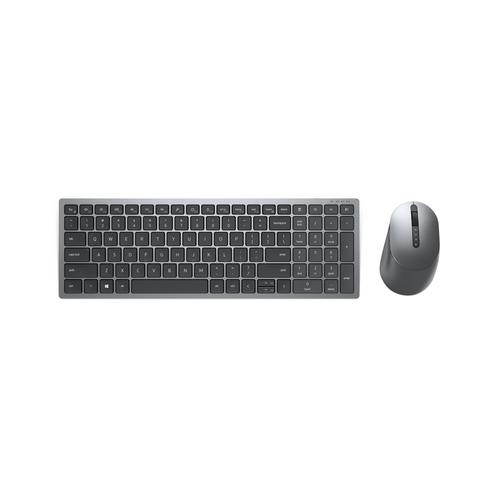 DELL KM7120W keyboard RF Wireless + Bluetooth QWERTY US International Gray, Titanium product photo