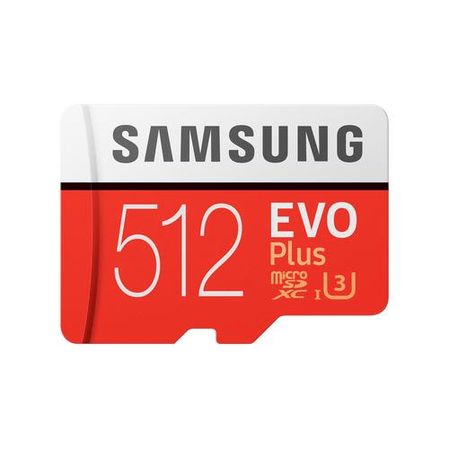 Samsung Evo Plus memory card 512 GB MicroSDXC UHS-I Class 10 product photo
