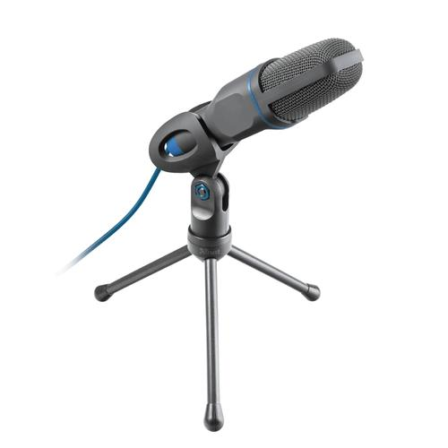 Trust Mico PC microphone Black, Blue product photo