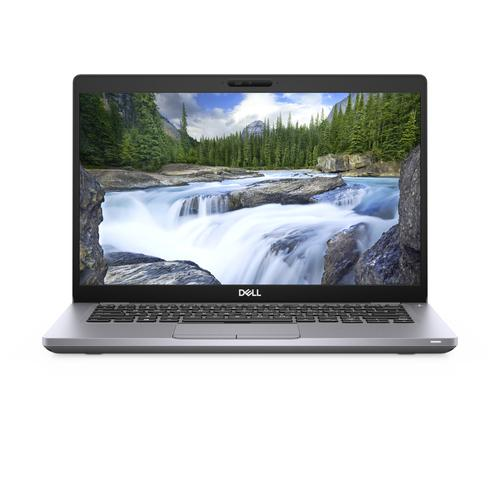 "DELL Latitude 5410 Notebook Grey 35.6 cm (14"") 1920 x 1080 pixels 10th gen Intel® Core™ i5 8 GB DDR4-SDRAM 256 GB SSD Wi-Fi 6 (802.11ax) Windows 10 Pro product photo"