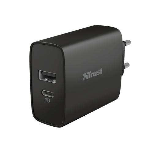Trust 23558 mobile device charger Black Indoor product photo