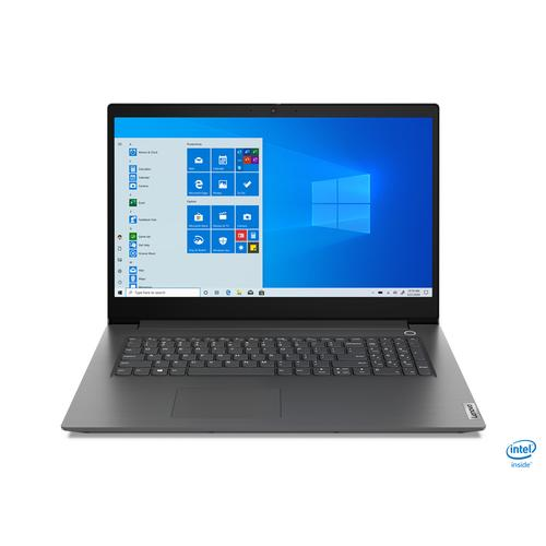 "Lenovo V V17 Notebook Grey 43.9 cm (17.3"") 1920 x 1080 pixels 10th gen Intel® Core™ i7 12 GB DDR4-SDRAM 512 GB SSD Wi-Fi 6 (802.11ax) Windows 10 Pro product photo"