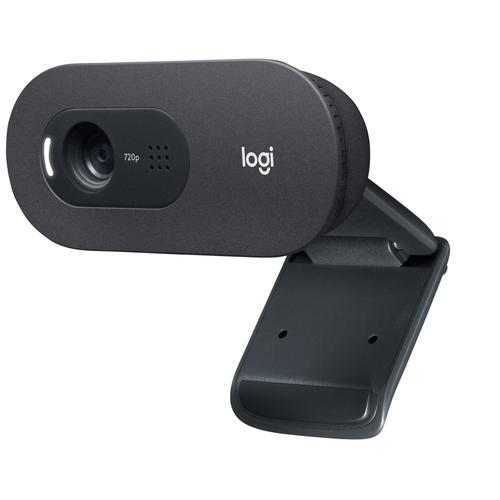 Logitech C505e webcam 1280 x 720 pixels USB Black product photo  L