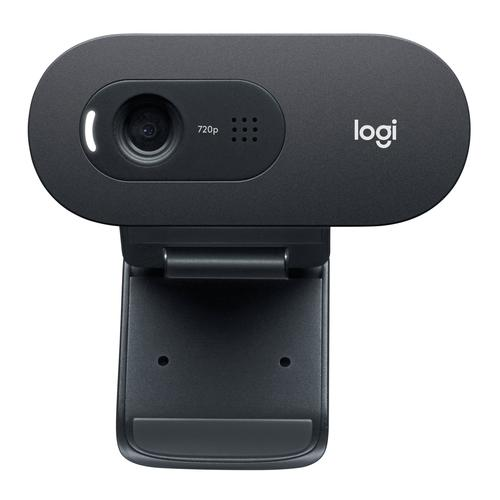 Logitech C505e webcam 1280 x 720 pixels USB Black product photo
