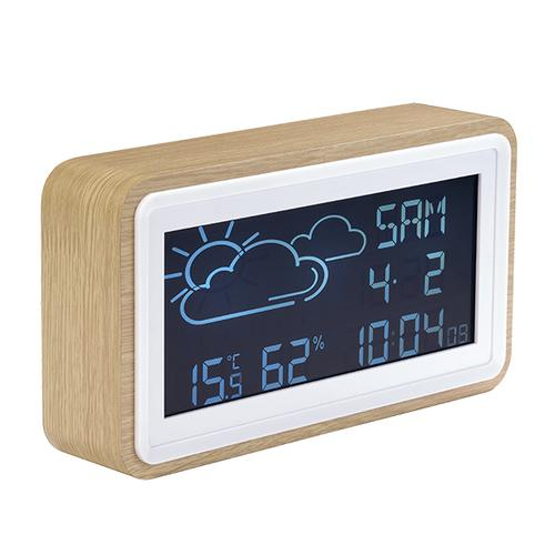 Denver WS-72 digital weather station Wood LCD DC/Battery product photo
