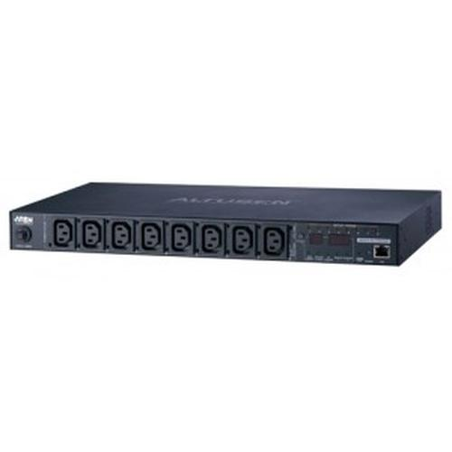 Aten PE8108G power distribution unit (PDU) 1U Black 8 AC outlet(s) product photo