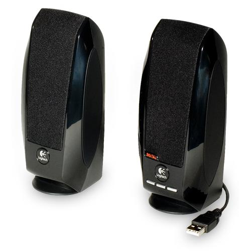 Logitech S150 loudspeaker 1.2 W Black Wired product photo