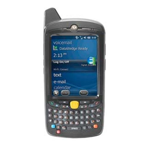 "Zebra MC67 handheld mobile computer 8.89 cm (3.5"") 640 x 480 pixels Touchscreen 385 g Black product photo"