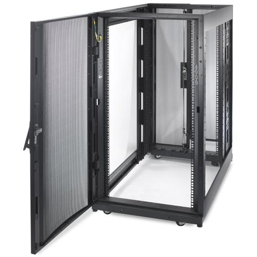 APC NetShelter SX 12U Freestanding rack Black product photo  L