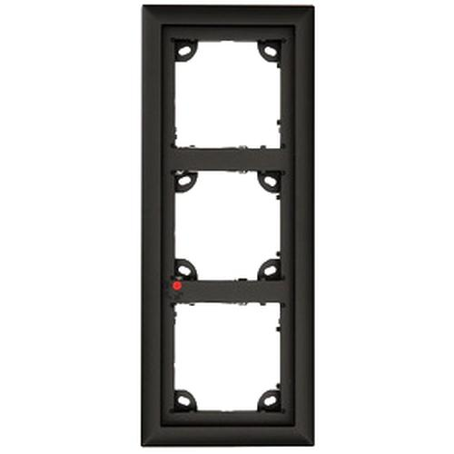 Mobotix MX-OPT-FRAME-3-EXT-BL outlet box Black product photo