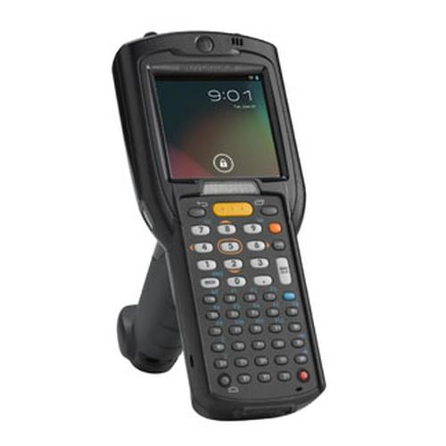 "Zebra MC3200 handheld mobile computer 7.62 cm (3"") 320 x 320 pixels Touchscreen 509 g Black product photo"