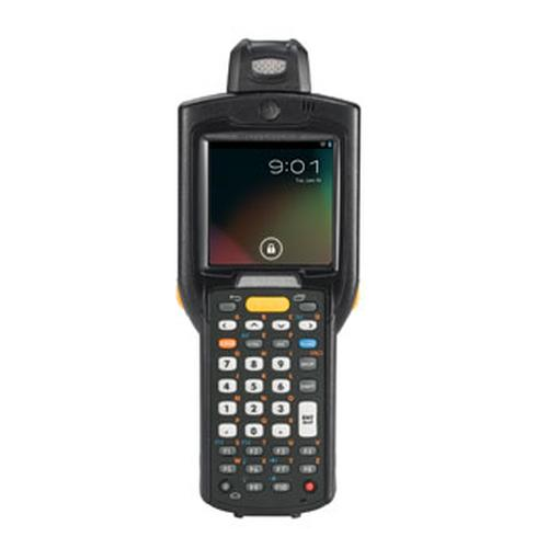 "Zebra MC3200 handheld mobile computer 7.62 cm (3"") 320 x 320 pixels Touchscreen 372 g Black product photo"