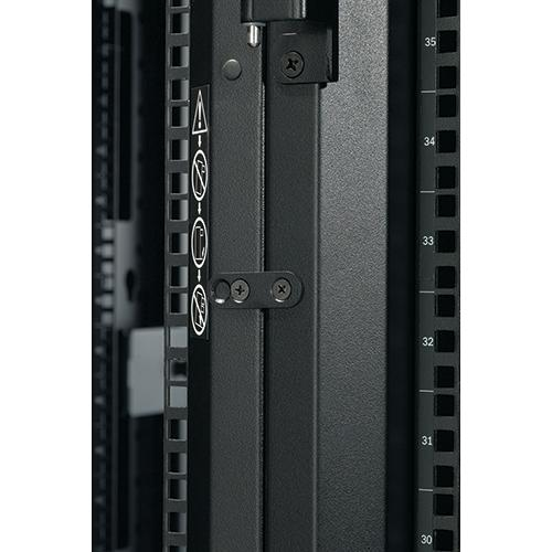 APC NetShelter SX 48U Freestanding rack Black product photo  L