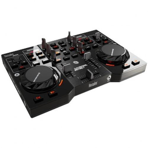 Hercules 4780833 DJ controller Black Magnetic tape scratcher 2 channels product photo