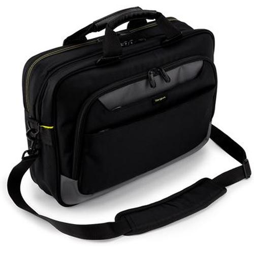 "Targus CityGear notebook case 43.9 cm (17.3"") Messenger case Black product photo"