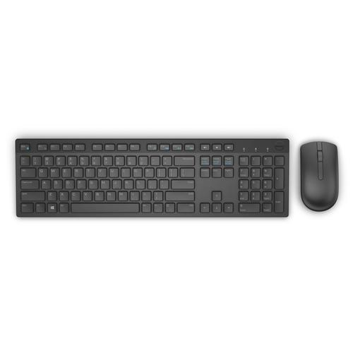 DELL KM636 keyboard RF Wireless QWERTY US International Black product photo