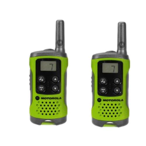 Motorola TLKR-T41 two-way radio 8 channels 446 MHz Green product photo