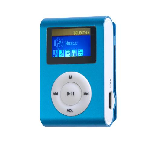 Difrnce MP855 MP3 player 4 GB Blue product photo