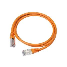 Gembird PP12 0.5m networking cable orange UTP CAT5e product photo