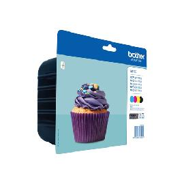 Brother LC-123VALBP ink cartridge 4 pc(s) Original Black, Cyan, Magenta, Yellow product photo
