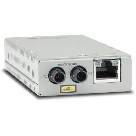 Allied Telesis AT-MMC200/ST-60 network media converter 100 Mbit/s 1310 nm Multi-mode Silver product photo