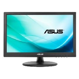 "ASUS VT168N point touch monitor 39.6 cm (15.6"") 1366 x 768 pixels Black Multi-touch product photo"