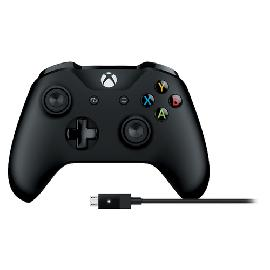 Microsoft 4N6-00002 Gaming Controller Gamepad PC, Xbox One Bluetooth/USB Black product photo
