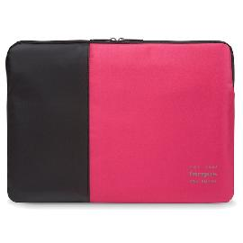 "Targus Pulse notebook case 39.6 cm (15.6"") Sleeve case Black, Red product photo"