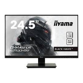 "iiyama G-MASTER G2530HSU-B1 LED display 62.2 cm (24.5"") 1920 x 1080 pixels Full HD Black product photo"