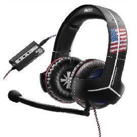 Thrustmaster Y-350CPX 7.1 Powered Far Cry 5 Edition Headset Head-band Black, Blue, Red, White 3.5 mm connector product photo