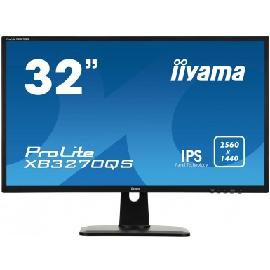 "iiyama ProLite XB3270QS-B1 computer monitor 80 cm (31.5"") 2560 x 1440 pixels Wide Quad HD LED Black product photo"