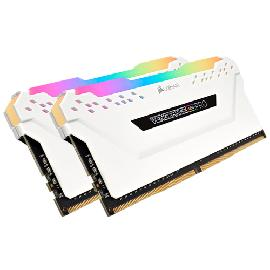 Corsair Vengeance CMW16GX4M2A2666C16W memory module 16 GB 2 x 8 GB DDR4 2666 MHz product photo