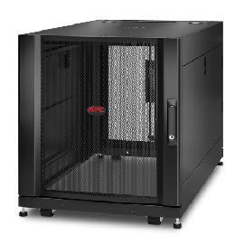APC NetShelter SX 12U Freestanding rack Black product photo