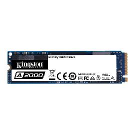Kingston Technology A2000 M.2 500 GB PCI Express 3.0 3D NAND NVMe product photo