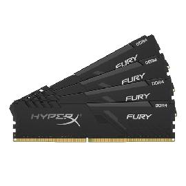 HyperX FURY HX432C16FB3K4/16 memory module 16 GB 4 x 4 GB DDR4 3200 MHz product photo