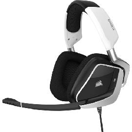 Corsair VOID ELITE USB Headset Head-band Black,White product photo