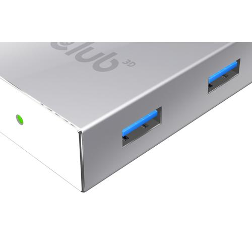 CLUB3D USB 3.0 Type C HUB to 4x USB3.0 High Speed photo du produit  L
