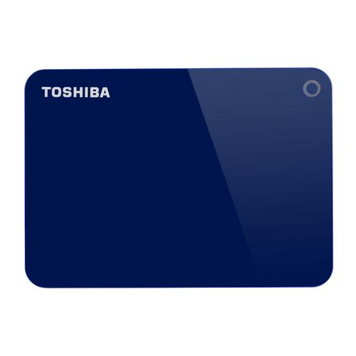 Toshiba Canvio Advance disque dur externe 1000 Go Bleu photo du produit