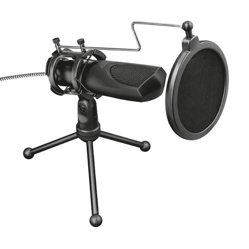 Trust GXT 232 Mantis Noir Microphone de PC photo du produit