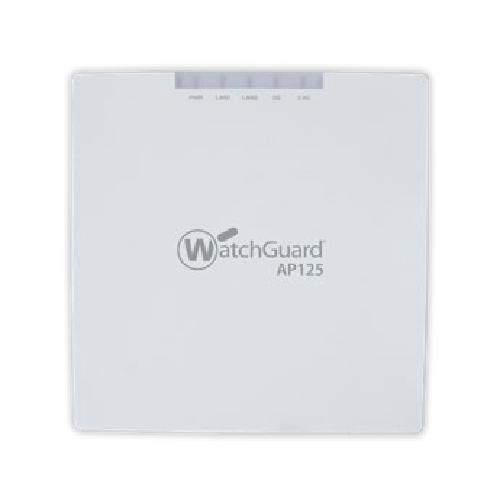 WatchGuard AP125 1000 Mbit/s Connexion Ethernet, supportant l'alimentation via ce port (PoE) Blanc photo du produit  L