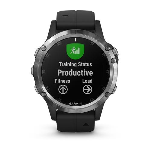 "Garmin fēnix 5 Plus montre intelligente Argent 3,05 cm (1.2"") GPS (satellite) photo du produit  L"
