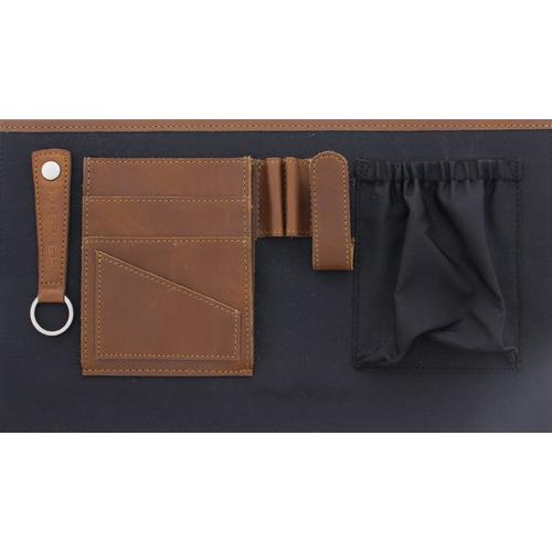 "Plevier 852-2 sacoche d'ordinateurs portables 39,6 cm (15.6"") Toploader bag Marron photo du produit  L"