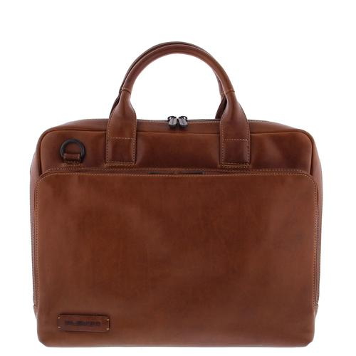 "Plevier 852-2 sacoche d'ordinateurs portables 39,6 cm (15.6"") Toploader bag Marron photo du produit"