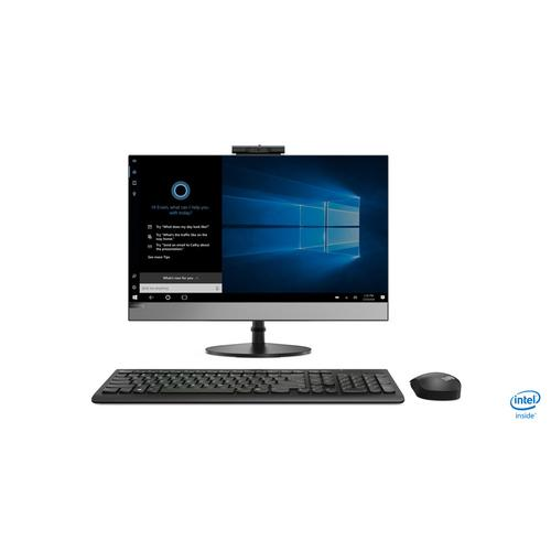 "Lenovo V530 60,5 cm (23.8"") 1920 x 1080 pixels Intel® Core™ i5 de 8e génération 8 Go DDR4-SDRAM 256 Go SSD Noir PC All-in-One photo du produit"