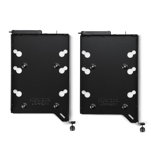 Fractal Design FD-ACC-HDD-A-BK-2P Compartiment pour ordinateur Universel HDD mounting bracket photo du produit