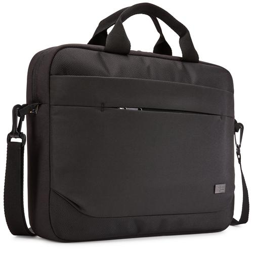 "Case Logic Advantage ADVA-114 Black sacoche d'ordinateurs portables 35,6 cm (14"") Sac Messenger Noir photo du produit"
