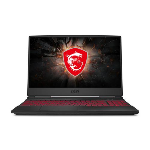 "MSI Gaming GL65 10SER-044BE Leopard Ordinateur portable Noir 39,6 cm (15.6"") 1920 x 1080 pixels 10e génération de processeurs Intel® Core™ i7 16 Go DDR4-SDRAM 512 Go SSD NVIDIA® GeForce RTX™ 2060 Wi-Fi 6 (802.11ax) Windows 10 Home photo du produit"