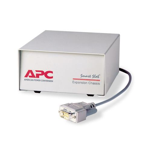 APC SmartSlot Expansion Chassis alimentation d'énergie non interruptible photo du produit  L