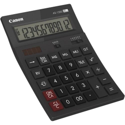 Canon AS1200HB calculatrice Bureau Calculatrice basique Gris photo du produit